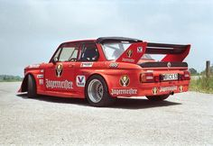 Jägermeister sponsored BMW 2002 driven by Helmut Kelleners in the 1974 DRM.