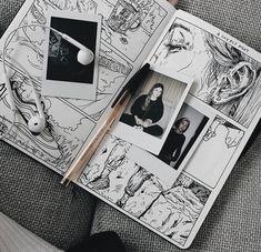 I love art that mixes skeletal structures, real life portraits and geometric sha. - I love art that mixes skeletal structures, real life portraits and geometric shapes (floral too, ev - Art Inspo, Kunst Inspo, Kunstjournal Inspiration, Sketchbook Inspiration, Sketchbook Ideas, Arte Gcse, Drawing Sketches, Art Drawings, Drawing Art