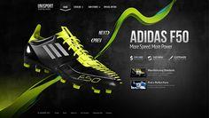 Adidas F50 Neon 2011 by Alexey Masalov, via Behance