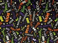 Your place to buy and sell all things handmade Halloween Words, Halloween Fun, Halloween Designs, Craft Fair Table, Cut Out Letters, How To Make Banners, Halloween Fabric, Order Up, Sewing Notions