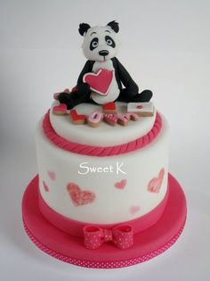 Bear in L❤ve with my soon to be grandbaby. Daughter loves Pandas, her daddy is our Panda so this baby will love Pandas~