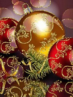 GIFS HERMOSOS: cosas navideñas encontradas en la web Christmas And New Year, Winter Christmas, Christmas Bulbs, Merry Christmas, Animated Christmas Tree, Gifs, Gif Pictures, Happy New Year 2020, Nouvel An