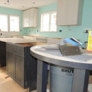 Plum Island remodeling project detailing cabinets in new kitchen space #kitchenisland #kitchendesign #kitchencabinets
