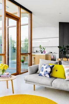 Awesome Scandinavian Home Interior Design Trends Estilo Interior, Home Interior, Interior Architecture, Interior Decorating, Decorating Ideas, Yellow Interior, Interior Doors, French Interior, Interior Styling