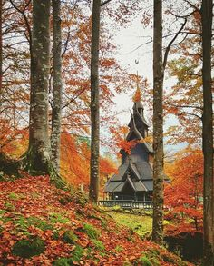 Fantoft Stave Church, Bergen, Norway