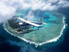 High resolution aircraft / planes desktop wallpaper of Over The Islands Of Palau (ID: Vanuatu, Tahiti, Beautiful Islands, Beautiful Places, Timor Oriental, Aviation Theme, Float Plane, Destinations, Airplane View