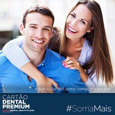 #SORRIAMAIS com os benefícios do CARTÃO DENTAL PREMIUM:  http://cartaodentalpremium.com/ #SwissDentalHealthPlans #CartãoDentalPremium #CartãoDeSaúde #Clínica #Implantes #Dentista