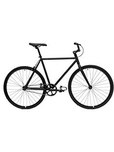 Critical Cycles Fixed Gear Single Speed Fixie Urban Road Bike (Matte Black, Small) ❤ Critical Cycles
