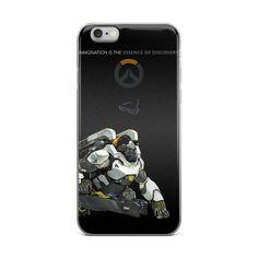 Overwatch Winston iPhone 5/5s/Se, 6/6s, 6/6s Plus Case