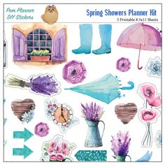 spring-showers-planner-kit-preview4