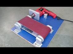 How to Make a Belt Sander at Home - YouTube