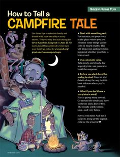 How to Tell a Campfire Tale