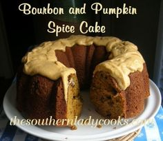 This cake with all the spices, raisins, bourbon and nuts will be a favorite to serve to family and friends. A wonderful dessertand great with a cup of coffee or just a glass of milk. 2 cups all-p...