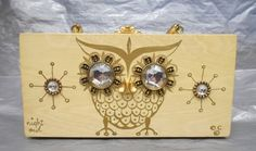 shopgoodwill.com: Vintage Enid Collins Jeweled Owl Night Purse