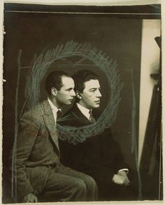 oneinchlunch: Man Ray - André Breton et Louis Aragon, 1925