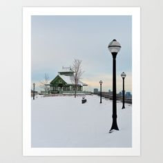 The Kiosk Art Print by Bust it Away Photography - $15.00