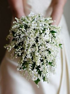 OMG.. LILLY OF THE VALLEY BOUQUET!