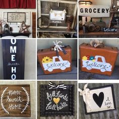 Upcycled Handpainted items made in Chanute Ks !
