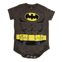 One of my favorite discoveries at WBShop.com: BATMAN Uniform Infant Snapsuit