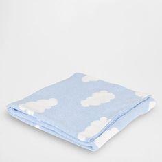 Blue Clouds Blanket - For Boy - Gift ideas | Zara Home Romania