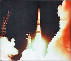 https://flic.kr/p/8S5zDj | N1-L3 Moon Rocket Launch | The N1 was launched four times: #1 on Feb. 21, 1969: Vehicle No. 3L failed 68.7 seconds after liftoff. #2 on July 3, 1969: Vehicle No. 5L failed immediately after liftoff. #3 on June 27, 1971: Vehicle No. 6L failed 50.1 seconds after liftoff from the left pad of the Site 110 in Baikonur. #4 on Nov. 23, 1972: Vehicle No. 7L failed about 107 seconds after liftoff.