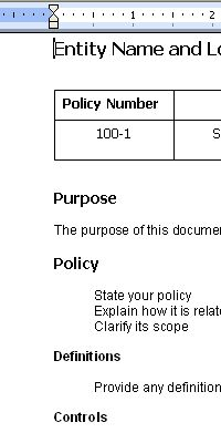 Sop examples sop template pinterest template outlines and folk a standard operating procedures template to develop your internal policies and procedures develop your sop manual with our word and excel templates pronofoot35fo Gallery