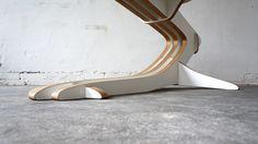 Qvist Coffee Table by Peter Qvist (Detail)