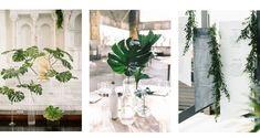 Un mariage de rêve en feuillage, comment laisser les fleurs de côté pour le grand jour L Eucalyptus, Grand Jour, Glass Vase, Table Decorations, Plants, Wedding, Home Decor, Inspiration, Wedding Signs