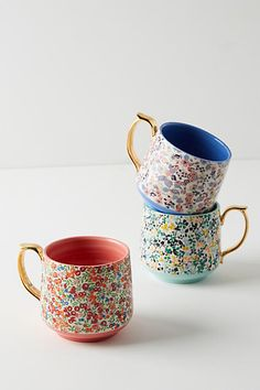 LOVE these #anthropologie mugs