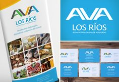 AVA Los ríos | Plan Estratégico Regional Alimentos con Valor Agregado CORFO | Diseño de Marca e Identidad Corporativa