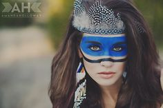 www.amandahollowayphotography.com    The Woodlands, TX senior conceptual portraits    Stylized senior session | Conceptual Session | Native American shoot