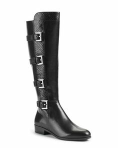MICHAEL+Michael+Kors++Tamara+Mixed-Leather+Boot. I love it and I pay only $85 dollars at macys...