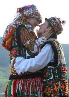 Ukrainian wedding clothes #folk