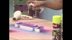 Colorgin no Ateliê na TV - Letras de MDF para decoração
