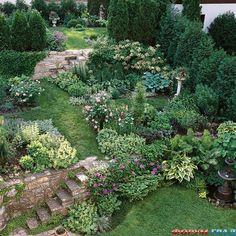 Разноуровневый сад