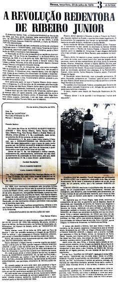 Jornal A Crítica 23/07/1975