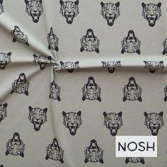 Nosh Organics - Tijgers - grijs