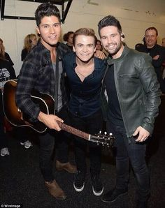 Hunter Hayes and Dan and Shay. Two of my very favorites
