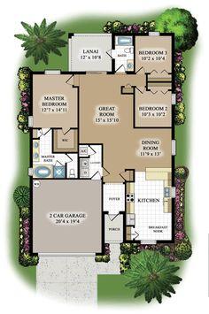 Capri floor plan