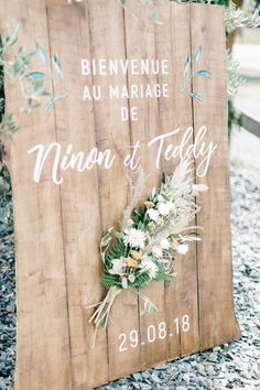 Ninon and Teddy wanted a wedding in their image in a simple and vegetal environment punctuated by Bohemian and Rock elements. A real pleasure . Marriage Reception, Wedding Ceremony, Wedding Day, Baby Shower, Ceremony Decorations, Autumn Wedding, Wedding Favors, Wedding Souvenir, Wedding Anniversary
