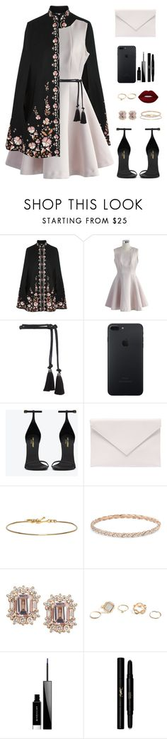 """Royal Love"" by mikaela-somerhalder on Polyvore featuring moda, Vilshenko, Chicwish, Lanvin, Yves Saint Laurent, Verali, Isabel Marant, David Yurman, GUESS e Givenchy"