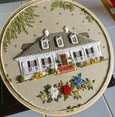 What wonderful detail in this embroidery piece!