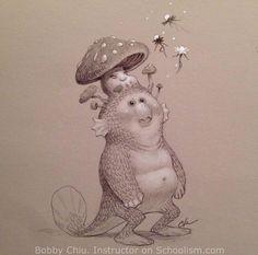 Dreamy Time, Bobby Chiu on ArtStation at https://www.artstation.com/artwork/dreamy-time