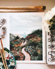 Art Sketchbook Inspiration Beautiful – Art World 20 Gouache Illustrations, Illustration Art, Girl Illustrations, Aesthetic Painting, Aesthetic Art, Stylo Art, Gouache Painting, Painting Art, Sketch Painting
