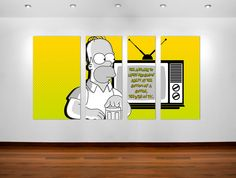 Homer Simpson quote poster art #posterart