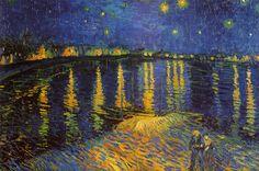 Starry Night Over the Rhone, c. 1888 - Posters av Vincent van Gogh på AllPosters.se