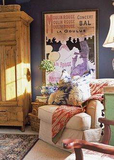 Living Room Color Schemes. Modern Country.