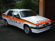 Alfa 75 Swiss Police