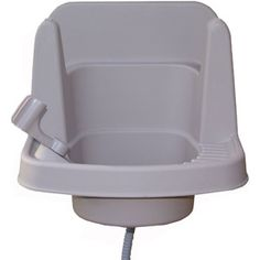 So my painter husband can stop washing his brushes and rollers in my kitchen sink! Riverstone Outdoor Garden Sink, 16""