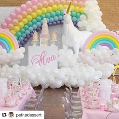 #Repost @petitedessert with @repostapp ・・・ We even had a life sized  Styling @petitedessert  Props and unicorn @elegant_tea_time  Balloons @partysplendour  Grazing table @zandzevents  Main cake @cake_me_pretty Cookies @delightful_cake_house  Cakepops @sugarpopbakery  Gift baskets @prettilywrapped Flowers @silkyblooms  Catering @eventsbyfarrah Backdrop cartoon @cartoonify.meee  Sticker Decals @createdbyamen  Coffee machine catering @deluxeandco #petitedessert #happybirthday #party…